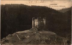 Alleuze - Le Chateau d'Alleuze - Cantal - Alleuze