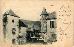 Le Cantal - Saint-Martin-Valmeroux - Place et Maison de la Tour .. - Saint-Martin-Valmeroux