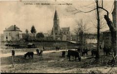 Cantal - Quézac - Ancienne sur l'Eglise - Quézac