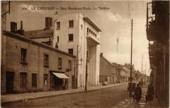 Le Creusot - Rue Maréchal-Foch - Le Théatre - Le Creusot