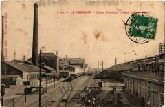 Le Creusot - Usines Schneider - Gare et Usine a Gaz - Le Creusot