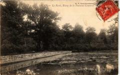 Givry La Foret, Etang de la Fontaine Couverte - Givry