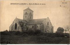Sennecey le Grand Eglise Saint-Martin de Laives France - Laives