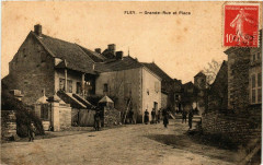 Fley Grande Rue et Place France - Fley