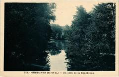 Genelard Un coin de la Bourbince France - Génelard