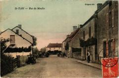 Saint Yan Rue du Moulin France - Saint-Yan