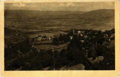 Uchon Vue panoramique sur Mesvres France - Uchon