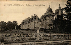 Blanzy les Mines Le Chateau du Plessis France - Blanzy