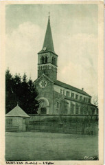 Saint-Yan L'Eglise France - Saint-Yan