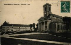 Sennecey le Grand Eglise et Place France - Sennecey-le-Grand