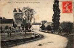 Joncy Vue prise de la Route de St.Gengoux France - Joncy