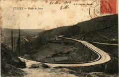 Culles Route de Joncy France - Joncy