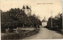 Joncy Route de St.Gengoux France - Joncy