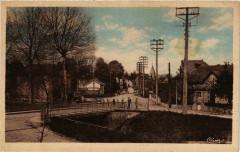 Genelard Pont de Vernizy et rue de la Gare France - Génelard