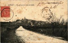 Saules Vue prise de la route de Culles France - Saules