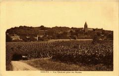 Saules Vue Generale prise des Roches France - Saules