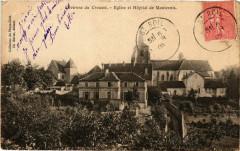 Env.de Creusot Eglise et Hopital de Montcenis France - Montcenis