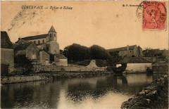 Cortevaix Eglise et Ecluse France - Cortevaix