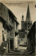 Saint-Gengoux-le-National - Maison du Xiv siecle - Saint-Gengoux-le-National