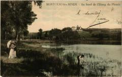 Montceau-les-Mines - Au bord de l'Etang du Plessis - Montceau-les-Mines