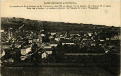 Saint-Gengoux-le-National - La superficie de Saint-Gengoux est - Saint-Gengoux-le-National