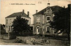 Saint-Emiland - Mairie et Ecoles - Saint-Émiland