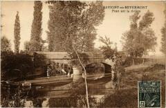 Savigny-en-Revermont - Pont sur la riviere - Savigny-en-Revermont