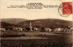 Le Maconnals Illustre - Vue générale de Verze - Verzé