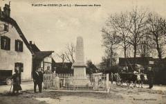 Flacey-en-Bresse Monument aux Morts - Flacey-en-Bresse