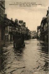 Chatillon-sur-Seine Inondations des 20, 21, 22 Janvier 1910 - Châtillon-sur-Seine