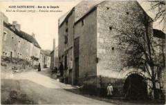 Alise-Sainte-Reine Rue de la Chapelle - Alise-Sainte-Reine