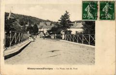 Gissey-sous-Flavigny La Place, vue du Pont - Gissey-sous-Flavigny