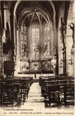 Chatillon-sur-Seine Intérieur de Eglise Saint-Nicolas - Châtillon-sur-Seine