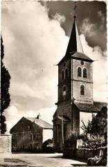 Corcelles-les-Monts La place de Eglise - Corcelles-les-Monts