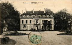 Genlis - Chateau de Genlis - coté Nod - Genlis