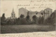 Chateau et Eglise de Mont Saint-Jean - Mont-Saint-Jean