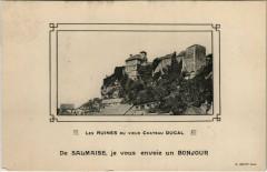 Salmaise - Les Ruines du Vieux Chateau Ducal - Salmaise