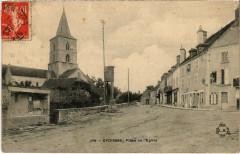 Epoisses - Place de L'Eglise - Époisses