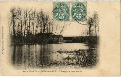 Cote-d'Or - Lucenay-le-Duc - L'Etang et le vieux Moulin - Lucenay-le-Duc