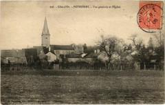 Cote-d'Or - Pothieres - Vue generale et L'Eglise - Pothières