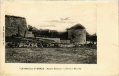 Fontaines-en-Duesmois - Anciens Remparts - La Porte au Meunier - Fontaines-en-Duesmois