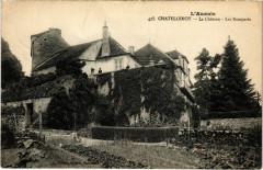 L'Auxols - Chatellenot - Le Chateau - Les Remparts - Châtellenot