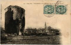 Cote-d'Or - Villaines-en-Duesmois et Ruines de l'Ancien Chateau - Villaines-en-Duesmois