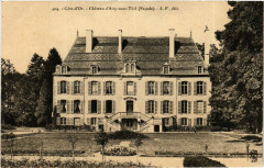 Cote-d'Or - Chateau d'Aisy-sous-Thil (Facade) - Aisy-sous-Thil