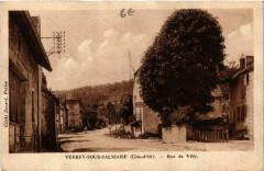 Verrey-sous-Salmaise (Cote-d'Or) - Rue de Villy - Verrey-sous-Salmaise