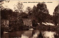 Aisey-sur-Seine (Cote-d'Or) - La Plage - Le Déversoir - Aisey-sur-Seine