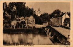 Chamesson (Cote-d'Or) - Le Pont et l'Eglise - Chamesson