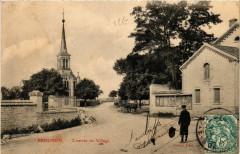 Brognon - L'entrée du Village - Brognon