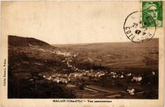 Malain (Cote-d'Or) - Vue panoramique - Mâlain