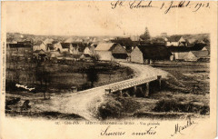 Cote-d'Or - Sainte-Colombe-sur-Seine - Vue générale - Sainte-Colombe-sur-Seine